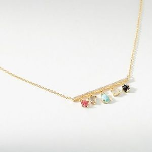 Anthropologie Charlize Charm Necklace